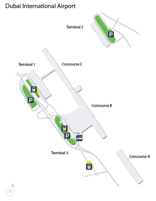 Parking Lot Types And Fares Dubai International Airport Dxb Airport